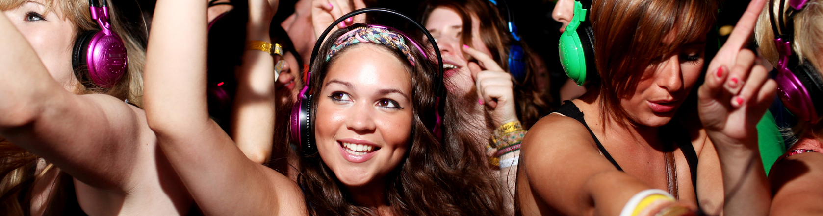 Partying hard at Creamfields
