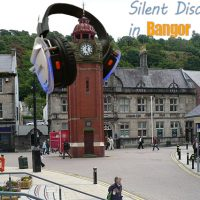 Silent Disco headphone hire in Bangor & surrounding areas!