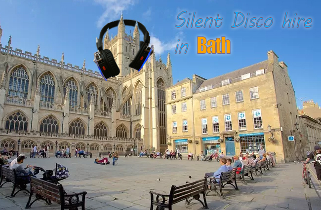Silent Disco Hire Bath