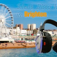 We provide Silent Disco headphone hire in Brighton & surrounding areas!