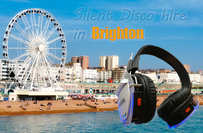 Silent Disco Hire Brighton